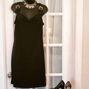 Black Michael Kors Dress W/ Buckles
